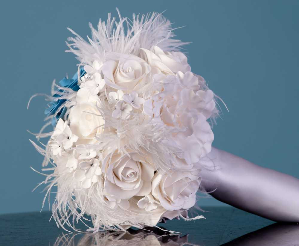 Wedding Brooch Bouquet Nz : Custom clay floral bouquets and accessories deposit